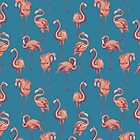 Flamingos by meganpalmer