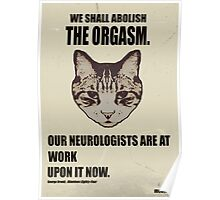 Orwellian Cat Has Some ISSUES Poster