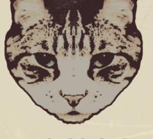 Orwellian Cat Has Some ISSUES Sticker