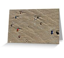 Natural Abstract Greeting Card