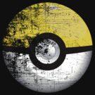 Destroyed Pokemon Go Team Yellow Pokeball by squidgun
