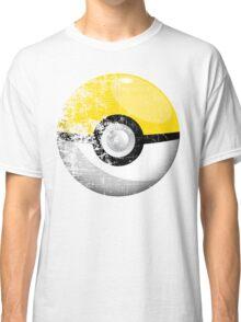 Destroyed Pokemon Go Team Yellow Pokeball Classic T-Shirt