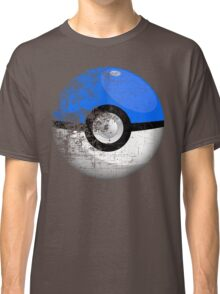 Destroyed Pokemon Go Team Blue Pokeball Classic T-Shirt