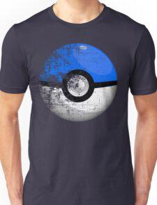 Destroyed Pokemon Go Team Blue Pokeball Unisex T-Shirt
