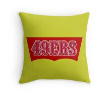 San Francisco 49ers Levi's Stadium without Text Throw Pillow