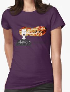 always on my mind Womens Fitted T-Shirt