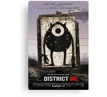District INC Canvas Print