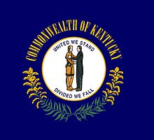 KIentucky State Flag by Carolina Swagger
