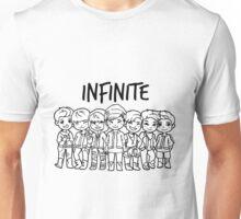 Infinite Back B/W Unisex T-Shirt