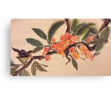 Kumquat paradise Canvas Print