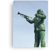 Louis Armstrong Statue New Orleans Canvas Print