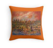 City Heat Throw Pillow