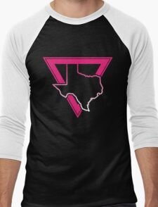 pink triangle texas Men's Baseball ¾ T-Shirt