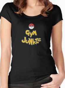 Gym Junkie Women's Fitted Scoop T-Shirt