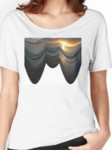 Golden Sunset Curtain Women's Relaxed Fit T-Shirt