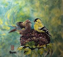 Sweet chatter by Rosalind Clarke