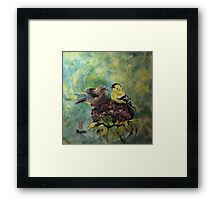 Sweet chatter Framed Print