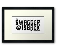 Xbox Swagger Framed Print