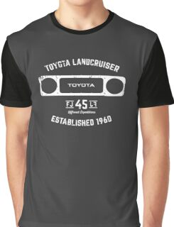 Toyota 40 Series Landcruiser FJ45 Square Bezel Est. 1960 Graphic T-Shirt