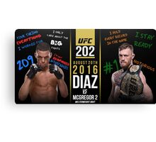 Diaz McGregor Canvas Print