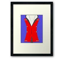 Jean Valjean French Costume Framed Print