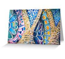 Gaudi Greeting Card