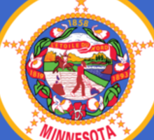 Minnesota State Flag Sticker