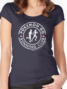 PokeGO Running Club Women's Fitted Scoop T-Shirt