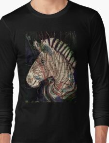 Street Zebra Long Sleeve T-Shirt