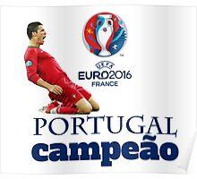 Campeão - EURO 2016 Poster
