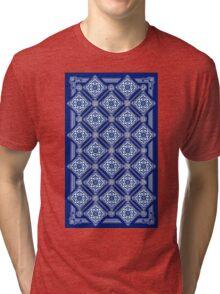 Blue Print Tri-blend T-Shirt
