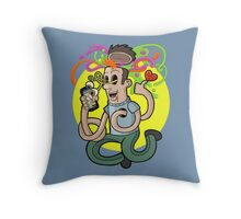Mobile Addict Throw Pillow