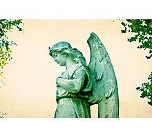 Patina Angel Photographic Print
