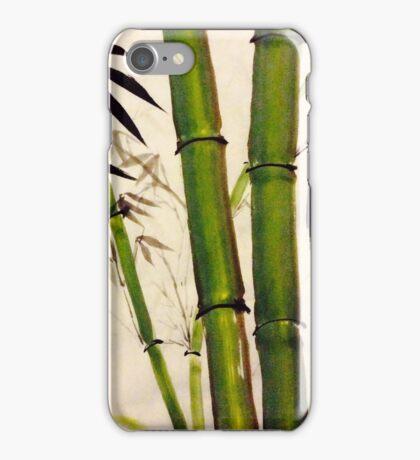 Hearty bamboo iPhone Case/Skin