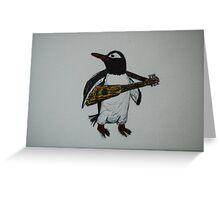 Signature Penguin Greeting Card