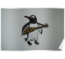 Signature Penguin Poster