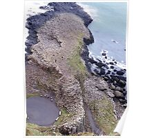 Giant's Causeway, from a different angle Poster