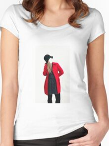 The Red Coat Women's Fitted Scoop T-Shirt