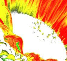 Crazy Sunflower! Sticker
