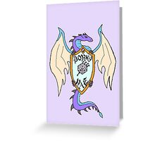 Dragon's Horde Logo Greeting Card