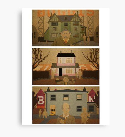 Boggis, Bunce & Bean Canvas Print