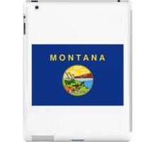 Montana State Flag iPad Case/Skin