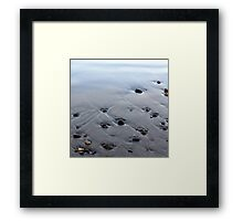 Here Just a While Framed Print