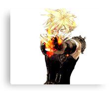 Cloud Strife - Final Fantasy VII Canvas Print