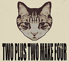 Orwellian Cat On Mathematics by Margaret Bryant