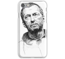 Eric Clapton Digital Portrait iPhone Case/Skin
