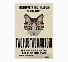 Orwellian Cat On Mathematics Unisex T-Shirt