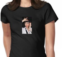 Tuxedo Girl Womens Fitted T-Shirt