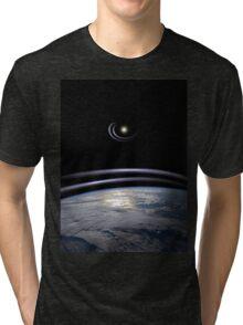 power source Tri-blend T-Shirt