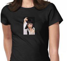 Clockwork Orange Girl Womens Fitted T-Shirt